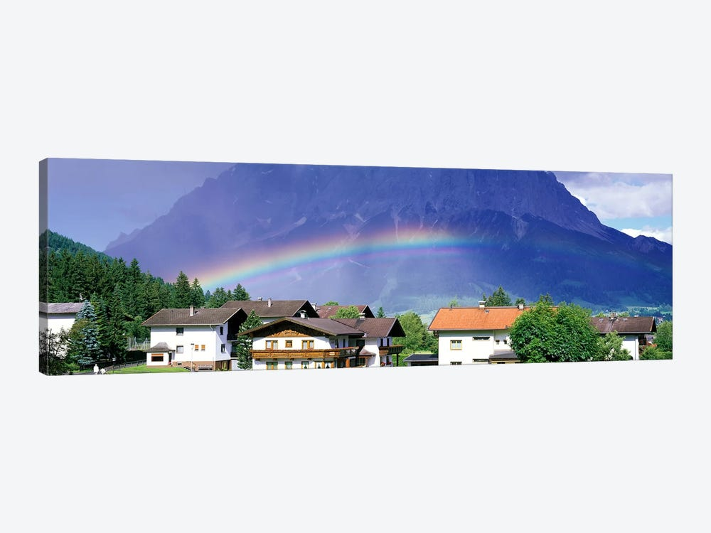Rainbow Innsbruck Tirol Austria by Panoramic Images 1-piece Canvas Wall Art