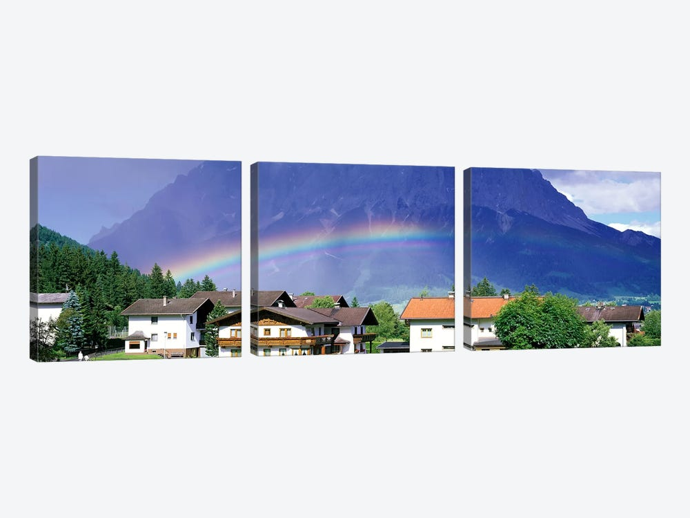Rainbow Innsbruck Tirol Austria by Panoramic Images 3-piece Canvas Wall Art