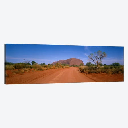 Desert Landscape, Uluru-Kata Tjuta National Park, Northern Territory, Australia Canvas Print #PIM3921} by Panoramic Images Canvas Art Print