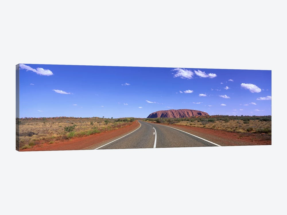Road and Ayers Rock Australia by Panoramic Images 1-piece Art Print