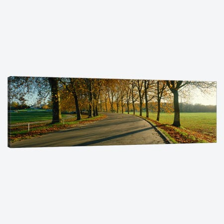 Road at Chateau Chambord France Canvas Print #PIM3924} by Panoramic Images Canvas Art