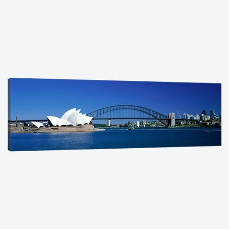 Sydney Harbour, Sydney, New South Wales, Commonealth Of Australia Canvas Print #PIM3925} by Panoramic Images Canvas Art