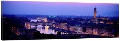 Arno River Florence Italy Canvas Print #PIM3935