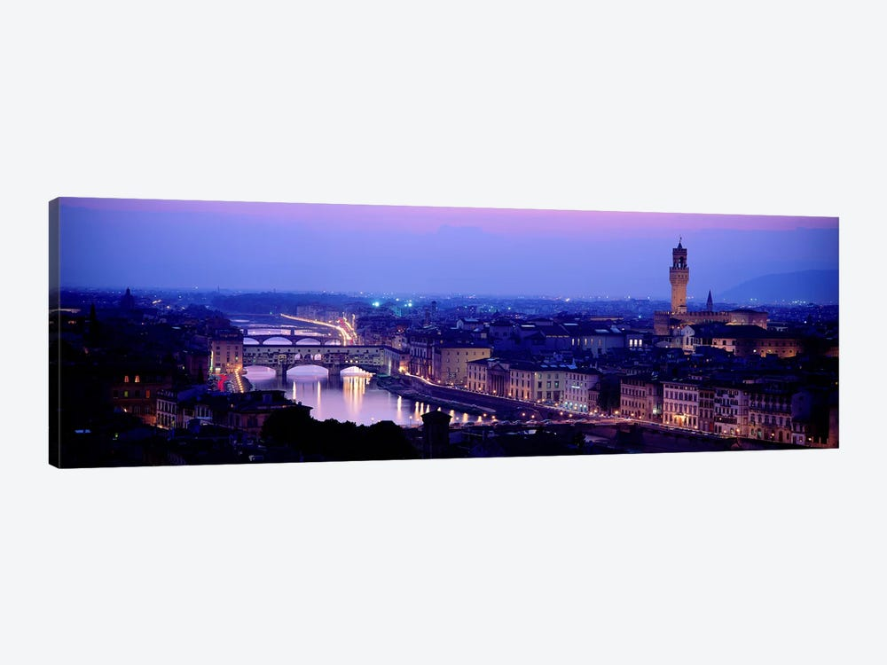 Arno River Florence Italy by Panoramic Images 1-piece Canvas Artwork