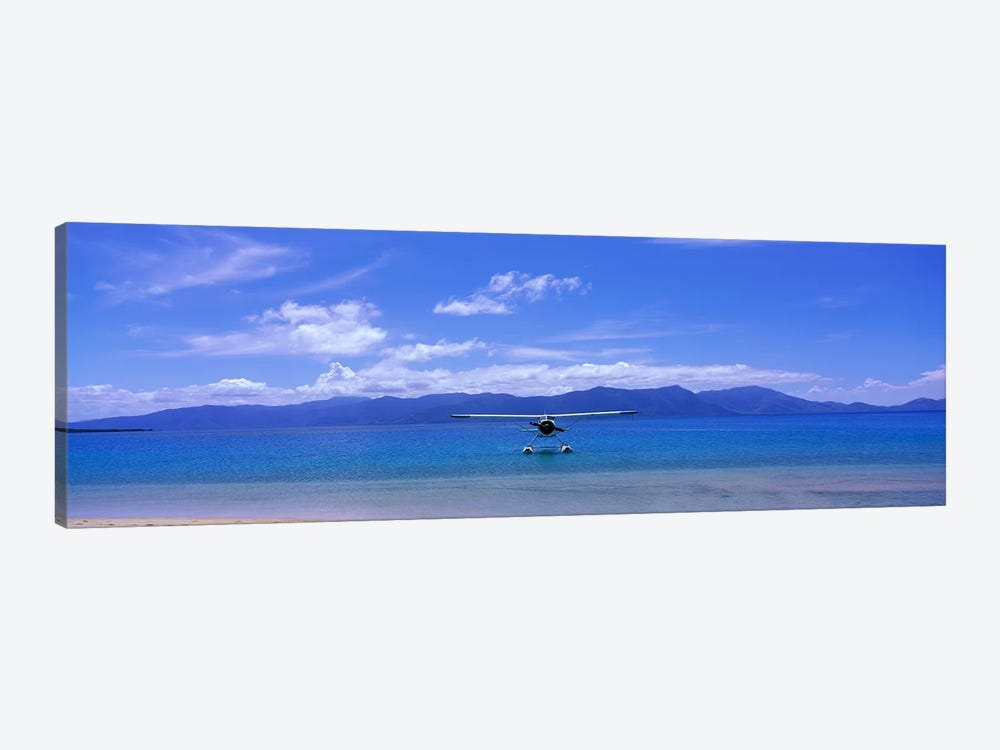 Float Plane Hope Island Great Barrier Reef Australia by Panoramic Images 1-piece Canvas Art Print