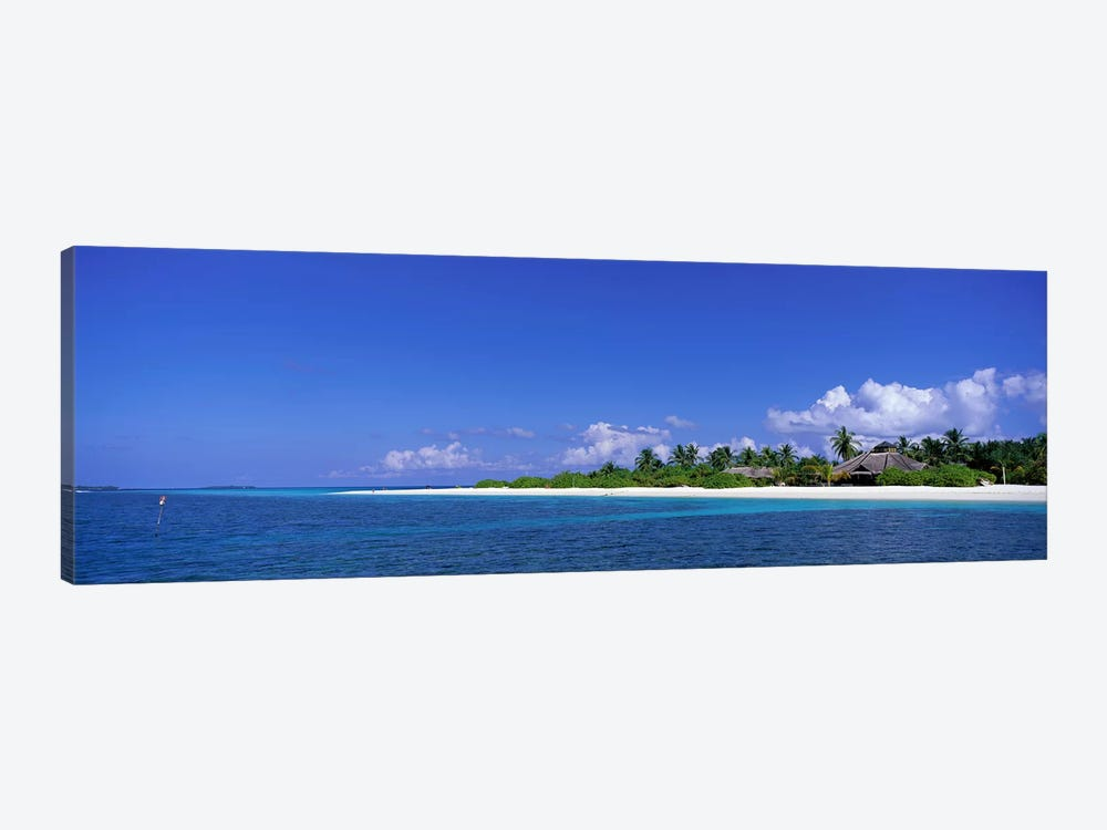 Beach Scene Maldives by Panoramic Images 1-piece Canvas Art