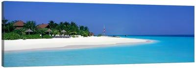 Laguna Beach Maldives Canvas Print #PIM3943