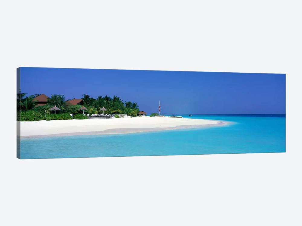 Laguna Beach Maldives by Panoramic Images 1-piece Canvas Art Print