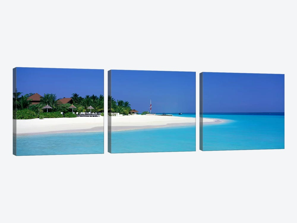 Laguna Beach Maldives by Panoramic Images 3-piece Art Print
