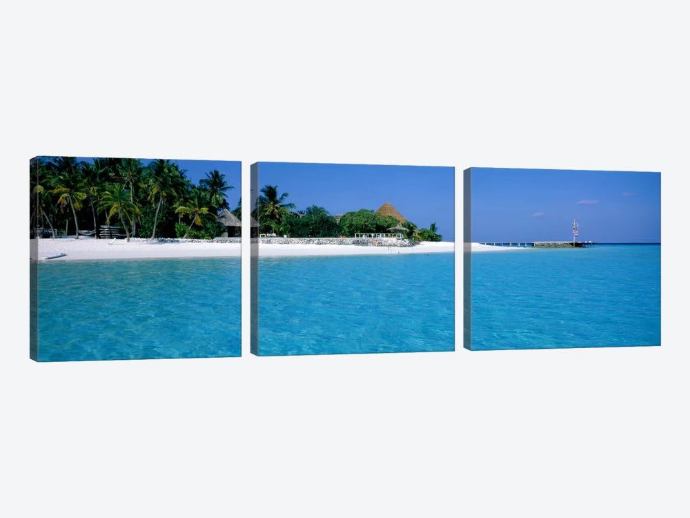 Thulhagiri Island Resort Maldives by Panoramic Images 3-piece Canvas Artwork