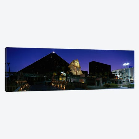 Luxor Hotel Las Vegas Nevada USA Canvas Print #PIM3947} by Panoramic Images Canvas Artwork