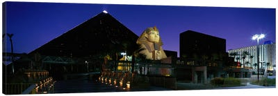 Luxor Hotel Las Vegas Nevada USA Canvas Art Print