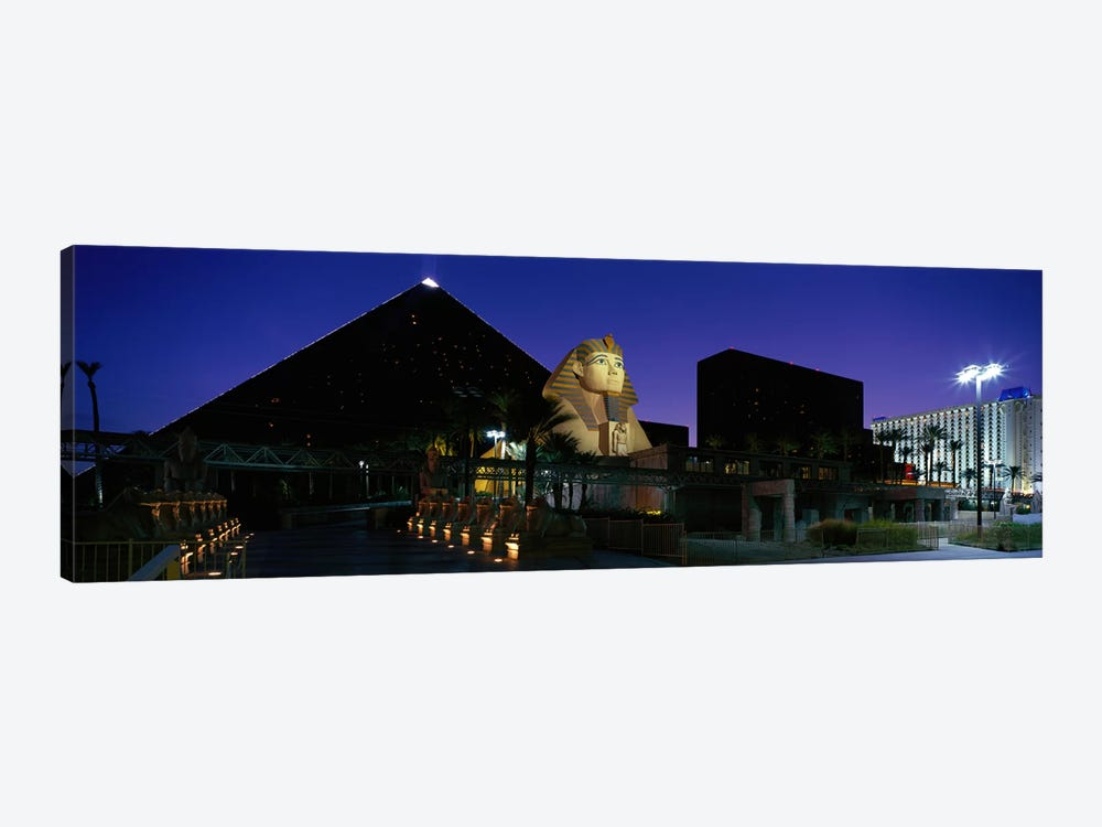 Luxor Hotel Las Vegas Nevada USA by Panoramic Images 1-piece Canvas Art Print
