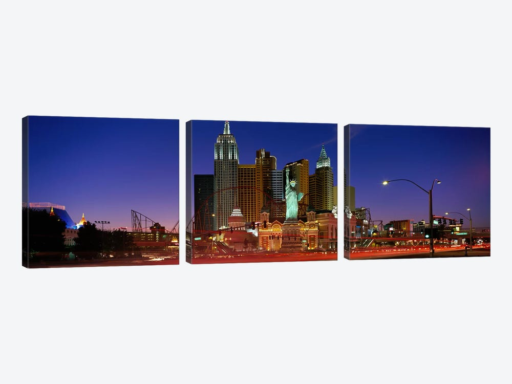 Las Vegas Nevada #2 by Panoramic Images 3-piece Canvas Art