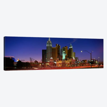 Las Vegas Nevada #2 Canvas Print #PIM3948} by Panoramic Images Art Print