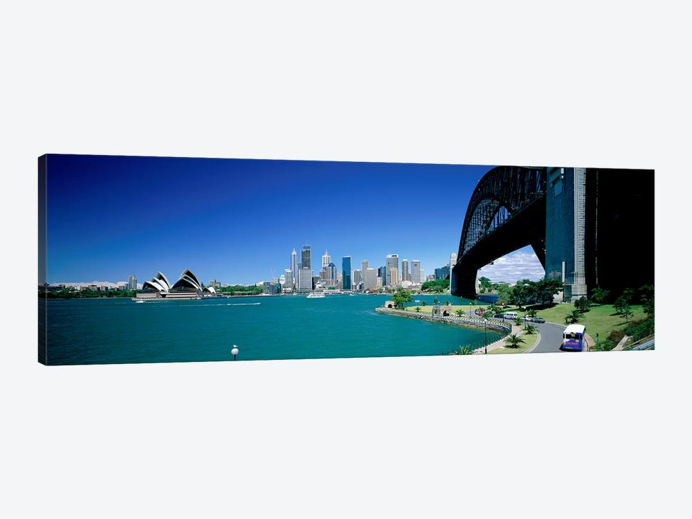 Sydney Harbour As Seen From Kirribilli, Sydney, New South Wales, Commonealth Of Australia by Panoramic Images 1-piece Canvas Art Print