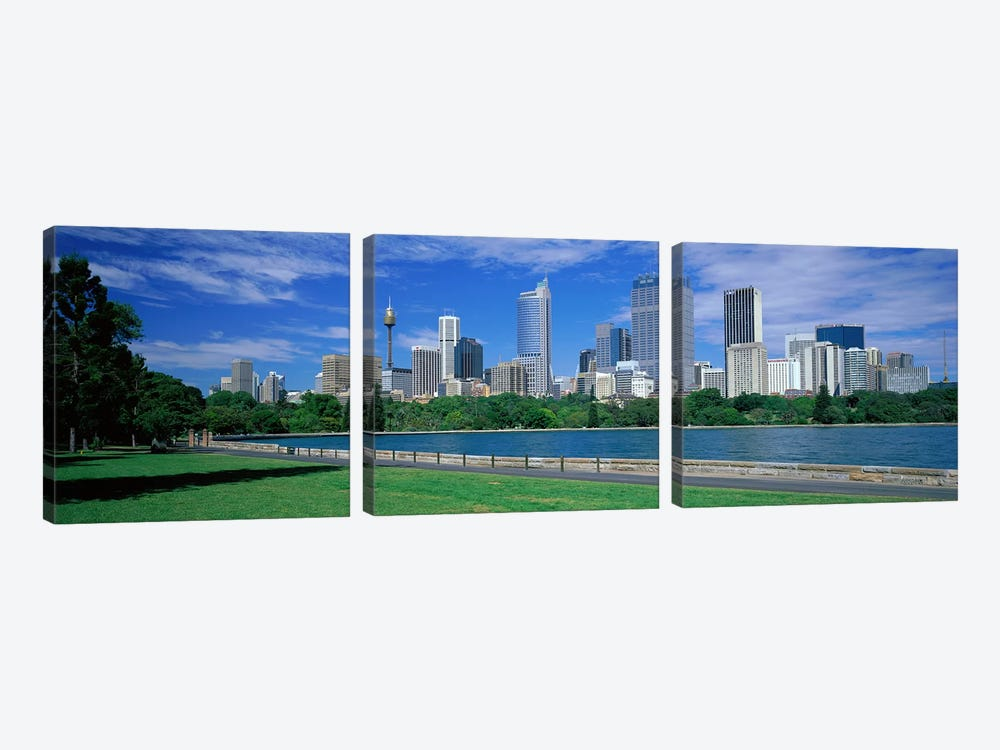 Sydney Australia by Panoramic Images 3-piece Canvas Wall Art