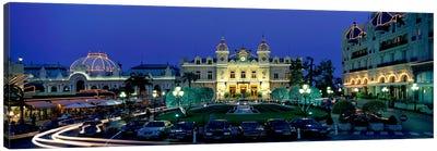 Casino Monaco Canvas Art Print