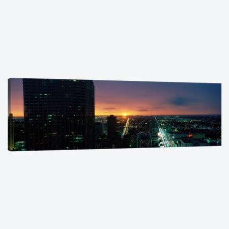 Houston, Texas, USA Canvas Print #PIM3961} by Panoramic Images Art Print