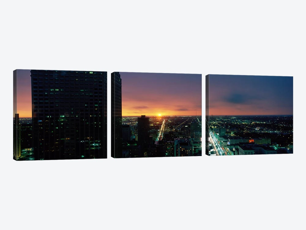 Houston, Texas, USA by Panoramic Images 3-piece Canvas Art Print