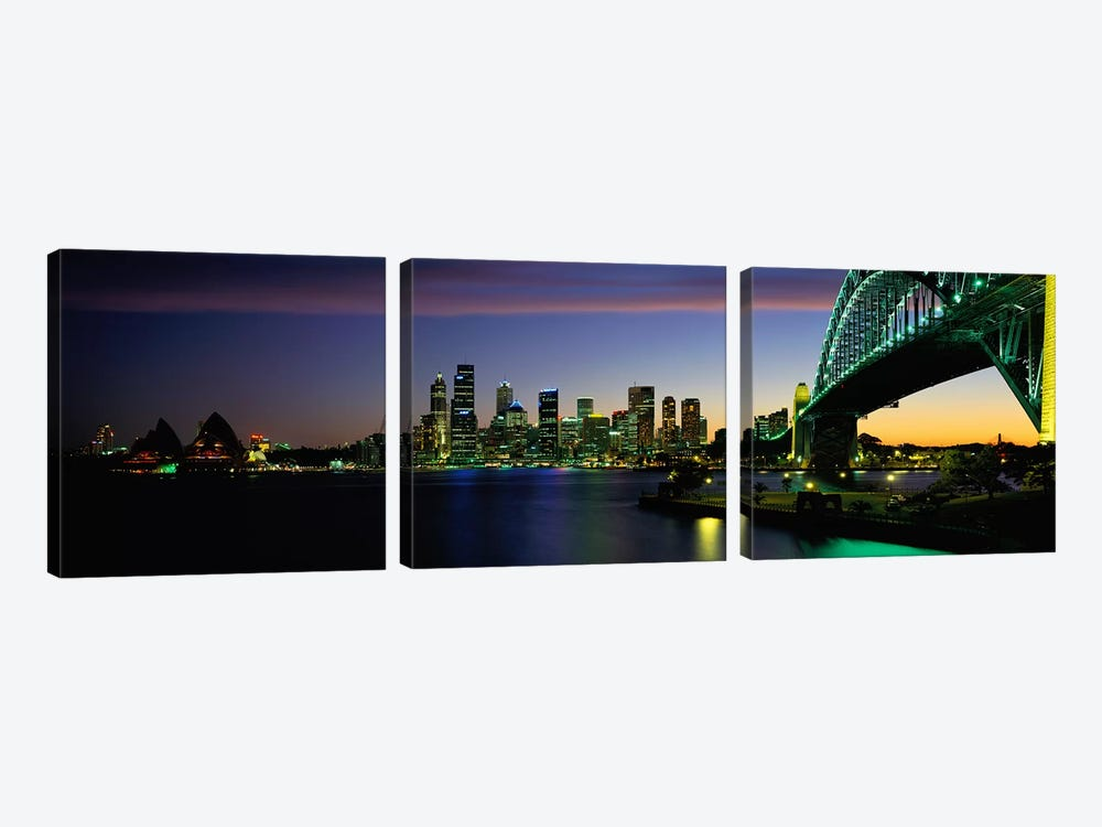 Sydney Australia by Panoramic Images 3-piece Canvas Artwork
