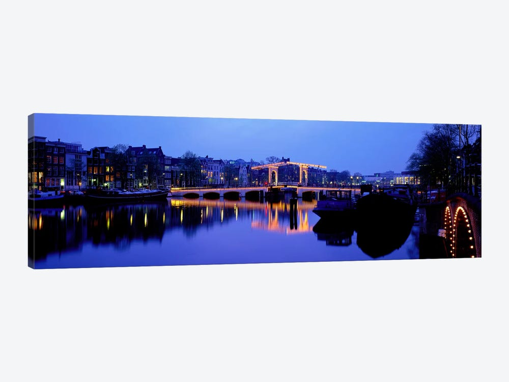 Amsterdam Netherlands by Panoramic Images 1-piece Canvas Print