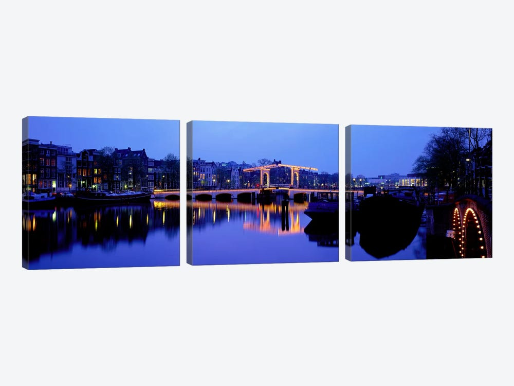 Amsterdam Netherlands by Panoramic Images 3-piece Canvas Print