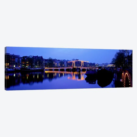 Amsterdam Netherlands 3-Piece Canvas #PIM3963} by Panoramic Images Art Print