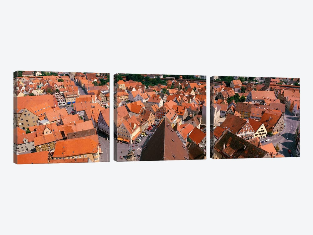Nordlingen Germany by Panoramic Images 3-piece Canvas Artwork
