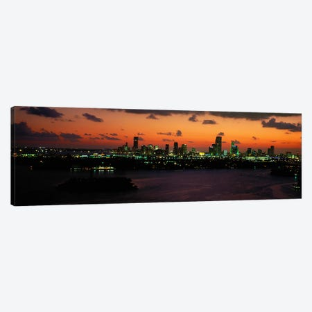Miami, Florida, USA #2 Canvas Print #PIM3965} by Panoramic Images Canvas Art
