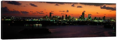 Miami, Florida, USA #2 Canvas Art Print