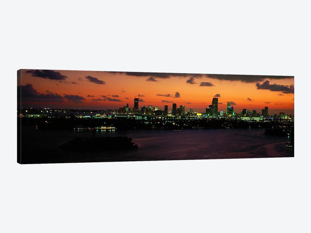 Miami, Florida, USA #2 by Panoramic Images 1-piece Canvas Print