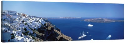Santorini Greece Canvas Print #PIM3966