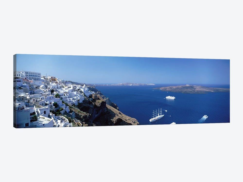 Santorini Greece by Panoramic Images 1-piece Canvas Art