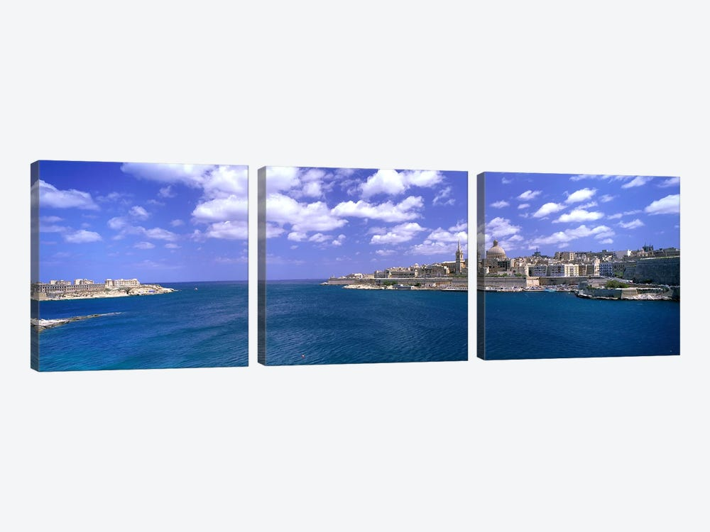 Valletta Malta by Panoramic Images 3-piece Art Print