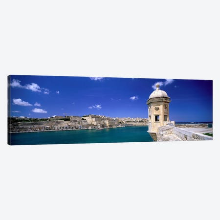 Valletta Malta Canvas Print #PIM3968} by Panoramic Images Canvas Art Print