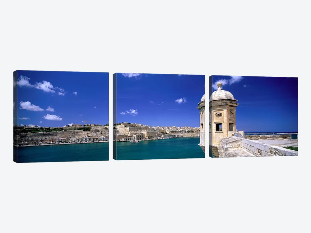 Valletta Malta by Panoramic Images 3-piece Canvas Wall Art