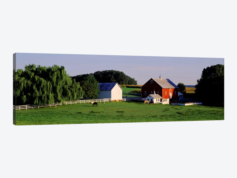 Farm, Baltimore County, Maryland, USA by Panoramic Images 1-piece Art Print