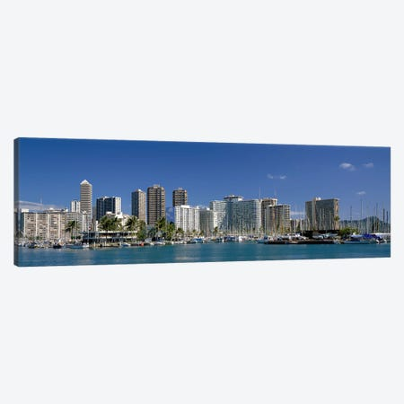 Honolulu Hawaii #4 Canvas Print #PIM3971} by Panoramic Images Canvas Art