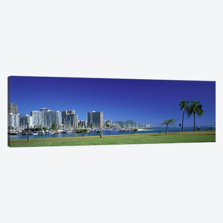 Honolulu Hawaii #2 Canvas Print #PIM3972} by Panoramic Images Canvas Artwork