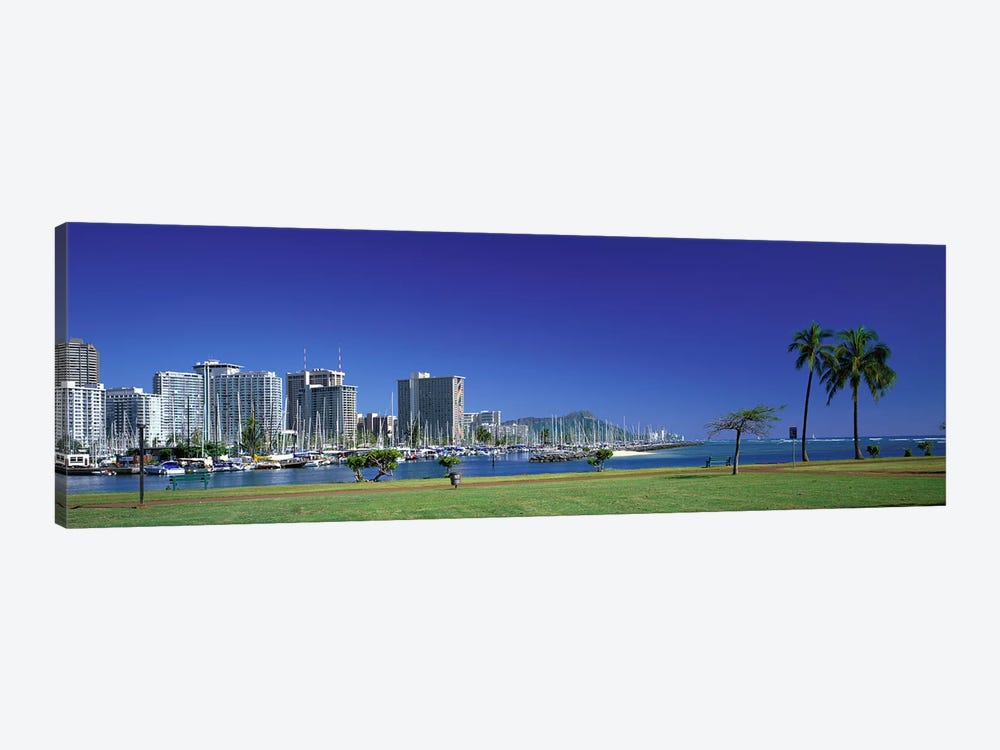 Honolulu Hawaii #2 by Panoramic Images 1-piece Canvas Print