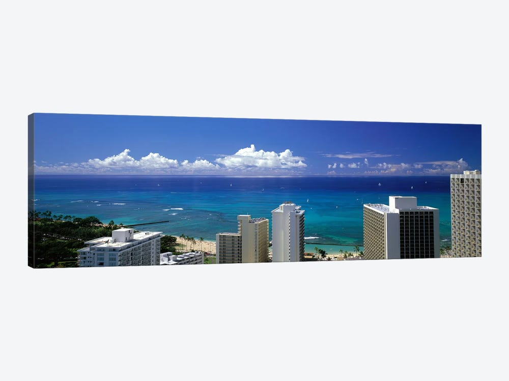 Honolulu Hawaii #3 by Panoramic Images 1-piece Canvas Artwork