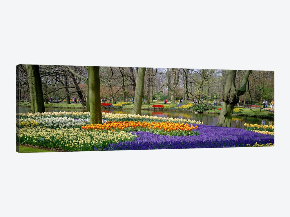 Keukenhof Garden Lisse The Netherlands by Panoramic Images 1-piece Canvas Artwork