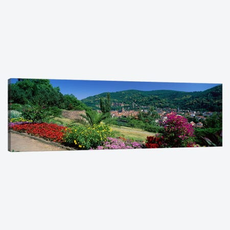 Heidelberg Germany Canvas Print #PIM3977} by Panoramic Images Art Print