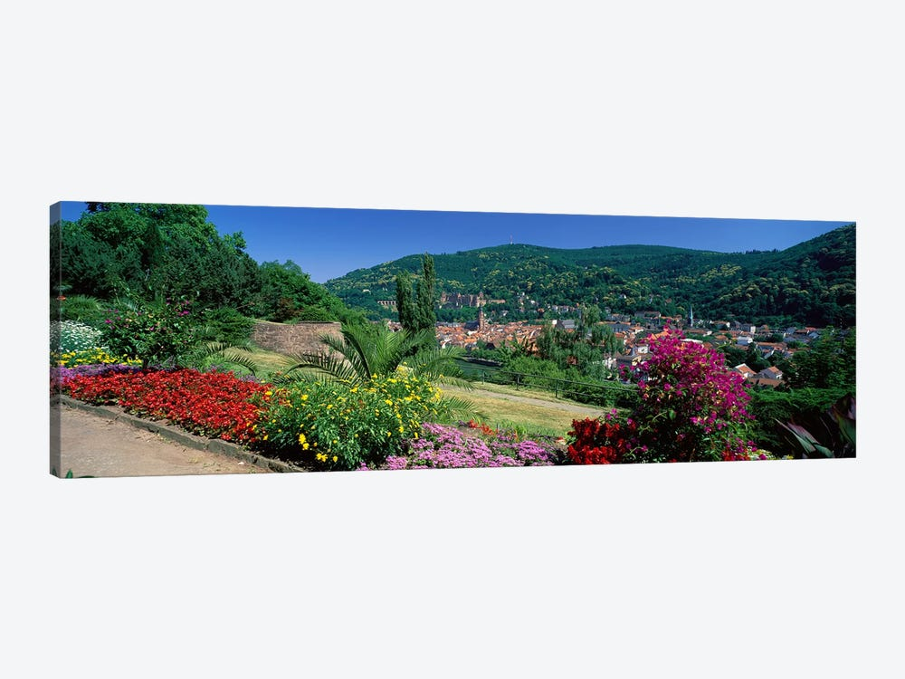 Heidelberg Germany by Panoramic Images 1-piece Canvas Artwork