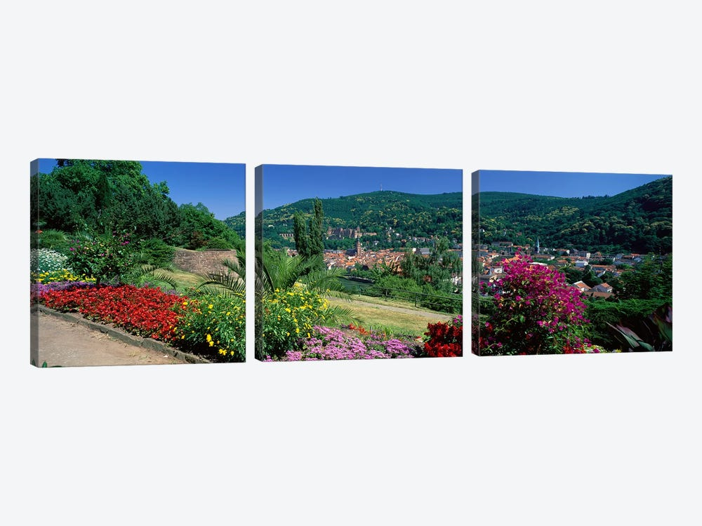 Heidelberg Germany by Panoramic Images 3-piece Canvas Art
