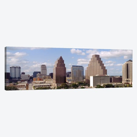 Buildings in a city, Town Lake, Austin, Texas, USA Canvas Print #PIM397} by Panoramic Images Art Print