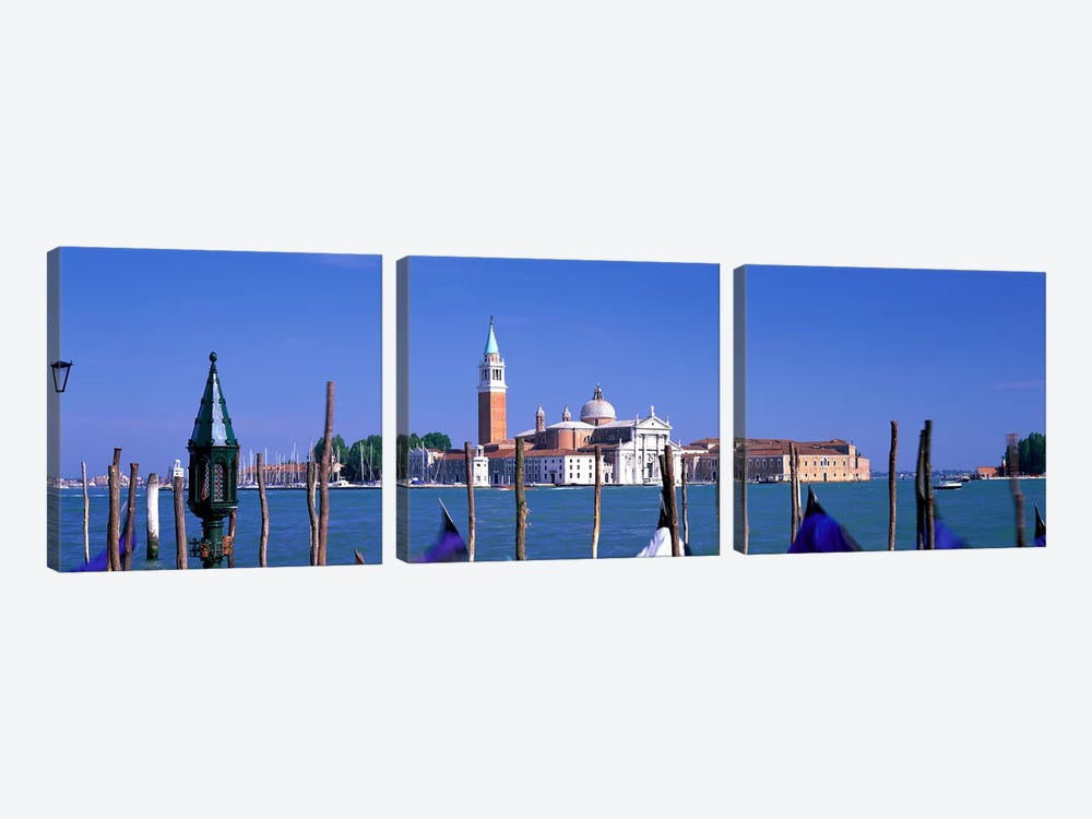 St. Maria della Salute Venice Italy by Panoramic Images 3-piece Canvas Art Print