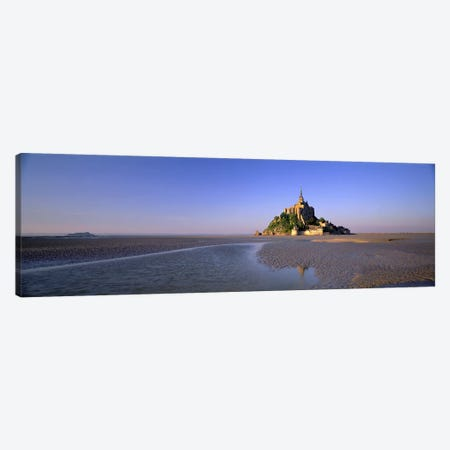 Le Mont-Saint-Michel, Normandy, France Canvas Print #PIM3983} by Panoramic Images Canvas Print