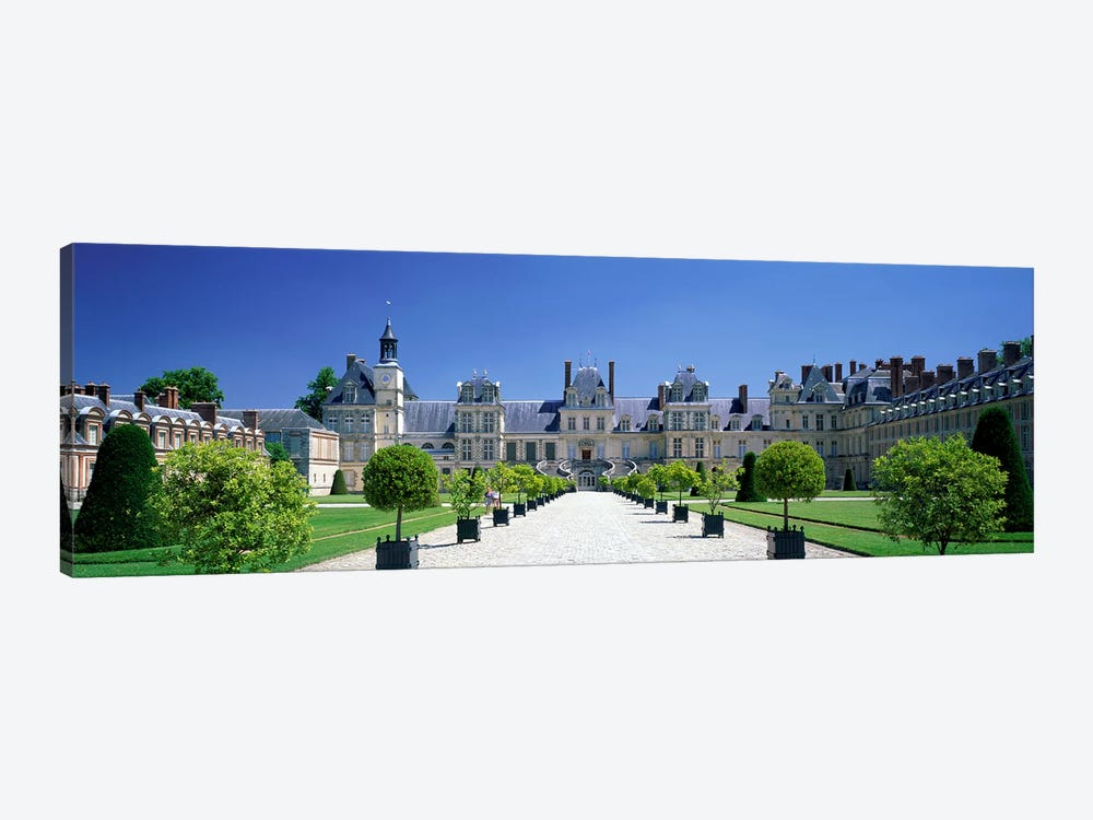 Chateau de Fontainebleau Ile de France France by Panoramic Images 1-piece Canvas Artwork